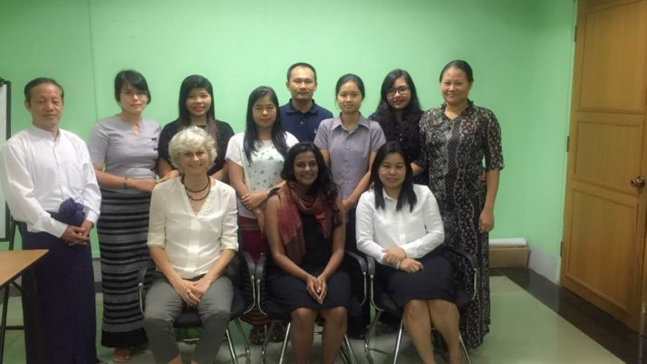 MGMA in-office pre-intermediate English course
